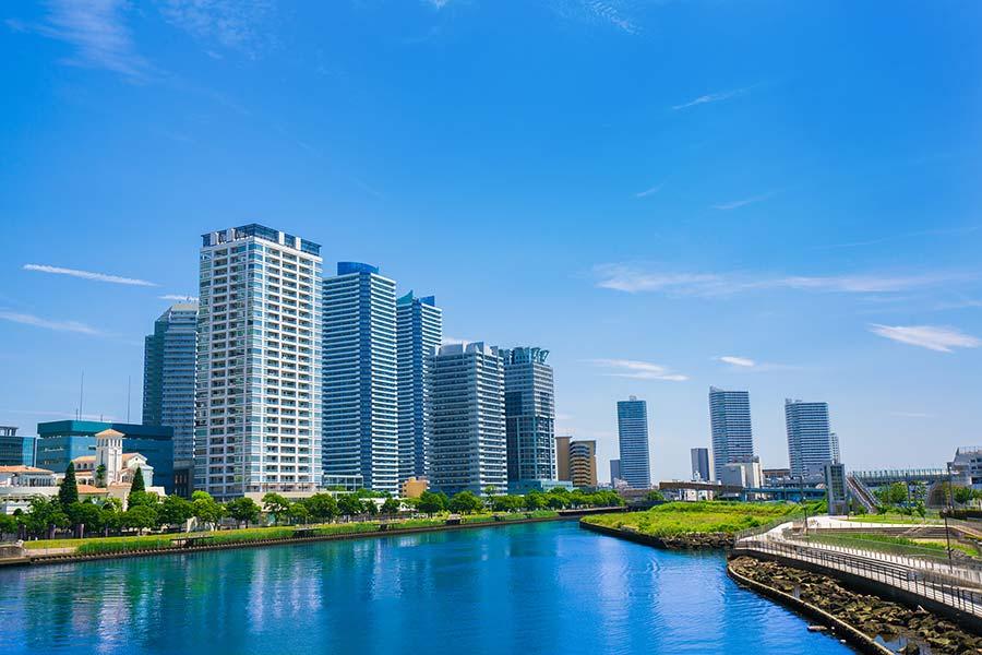 横浜駅から徒歩6分!高層マンションだから安心